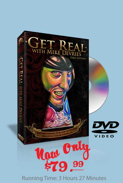 Get Real Tattoo DVD by Mike Devries
