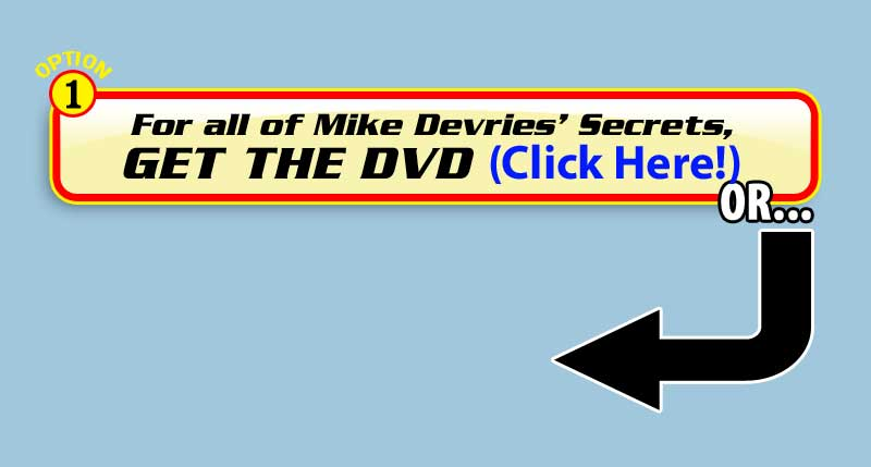Get Mikes Tattoo DVD