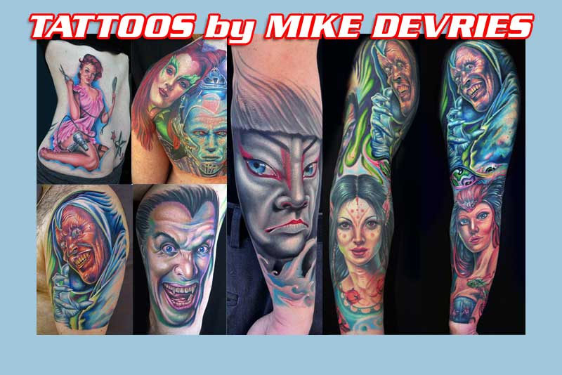 Tattoos by Mike Devries